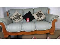 Selection of 2 and 3 seater sofas*fabric and leather*all one price*