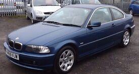 BMW 320 Ci, 2.2 Petrol, Blue, 2001