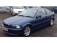 BMW 320 Ci, 2.2 Petrol, Blue, 2001