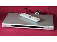 Sony DVP-NS30 CD/DVD Player complete with remote, instructions & SCART cable