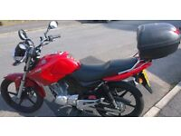 A Lovely condition 125YBR YAMAHA very LOW miles 4474 Just SERVICED,READY TO RIDE