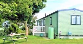 Immaculate holiday caravan in Swanage, Dorset