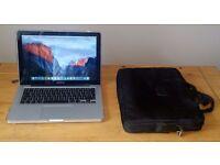 Apple Macbook Pro 13.3 inch + SmartShell Case + Holder