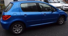 Peugeot 307, Year 2006 Car for sale, Good Condition, Mileage 97.2K