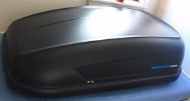 Car Roof Box (330 L) used once!