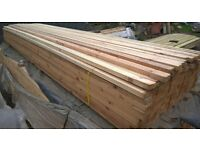3 metres long of 2 x 1 planed timber wood battens