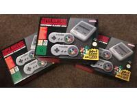 New and sealed mini classic Nintendo SNES