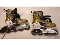 Inline Roller Skates in good condition UK Size 5 to 6