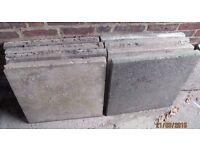 Used Council slabs 60cmx60cmx5cm