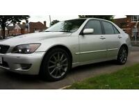2004 lexus IS200 AUTOMATIC FULLY LOADED FSH ALLOYS HEATED LEATHER BODYKIT SPOILER BARGAIN @ £1350ono