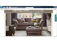 Gorgeous Country Living DFS Sofa