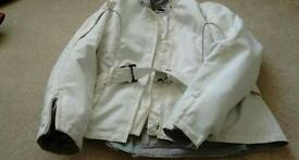 Joe Rocket White ladies Motorcycle Jacket