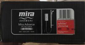 Brand New Mira Advance ATL Flex 9.8kw electric shower
