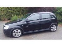 Vauxhall Corsa SRI CDTI 54 reg Black 5 door Diesel