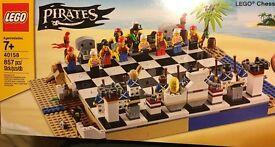 40158 LEGO Pirate Chess, brand new sealed set.