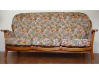 Stylish Vintage Three Seater Sofa