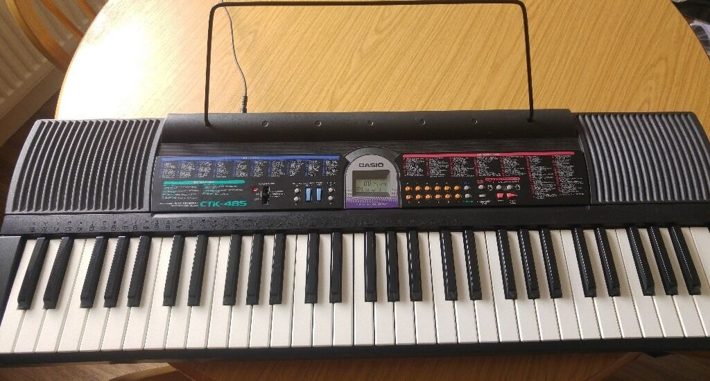 casio ctk 485 electronic keyboard in burton on trent staffordshire gumtree. Black Bedroom Furniture Sets. Home Design Ideas
