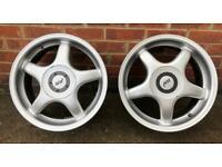 """Rare 16"""" VW ABT Alloy Wheels"""
