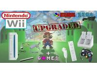Upgraded Wii with Games - Package deal