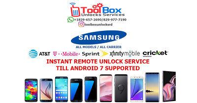 INSTANT! Samsung Galaxy J3/J7 Prime (J327P/J727P) SPRINT Unlock Remote Service