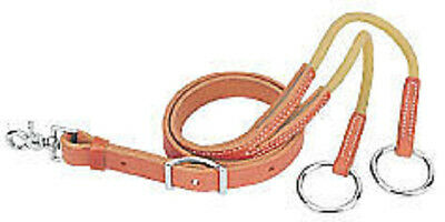 - Weaver Harness Leather Training Fork With Rubber Working New Horse Tack