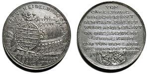 Germany, 1716 token/medal for the Heidelberg Tun - Italia - Germany, 1716 token/medal for the Heidelberg Tun - Italia