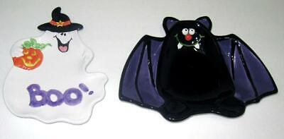 Halloween Candy Bats (2 Halloween Candy Dishes Ghost &)
