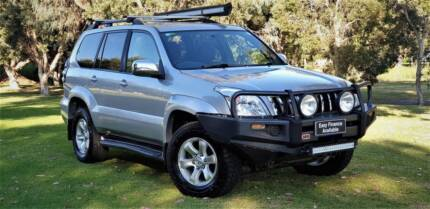 2007 Toyota Landcruiser Prado Automatic 4x4 8 Seater Welshpool Canning Area Preview