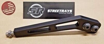 "[SR] 8"" Bent Shifter Handle Lever for Tremec T5 T45 T56 / Hurst / Mustang BLACK"