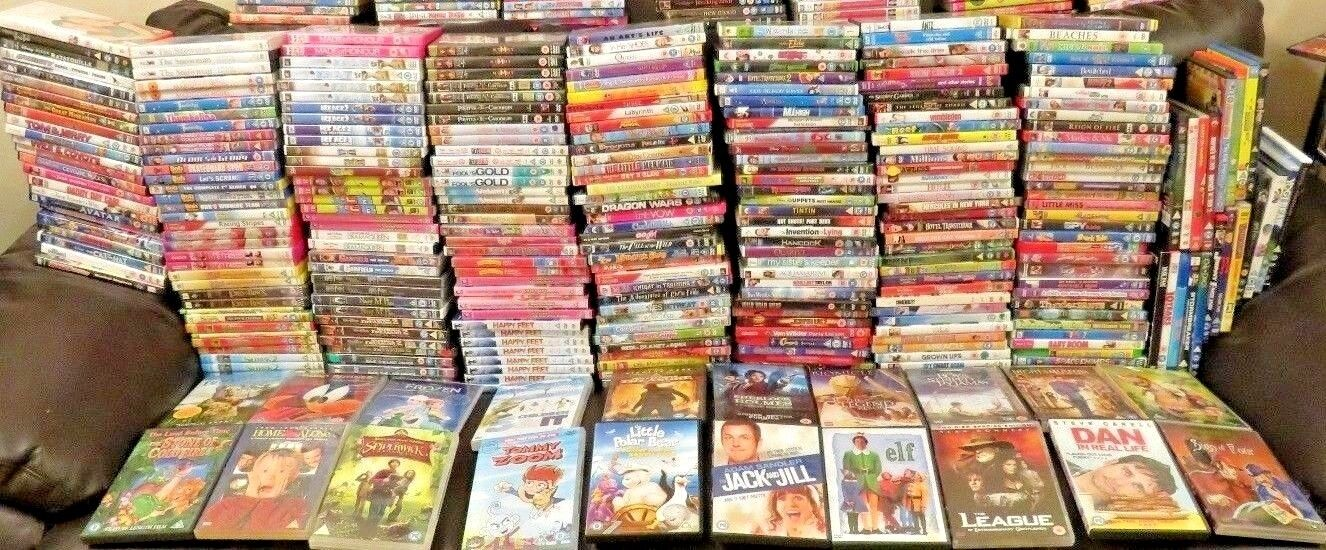 109 childrens/ kids/ family dvds VG+ condition FREE POSTAGE/MONEY BACK GUARANTEE
