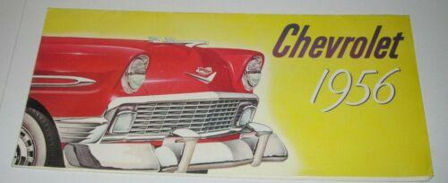 ORIGINAL 1956 BROCHURE - 1956 CHEVROLET