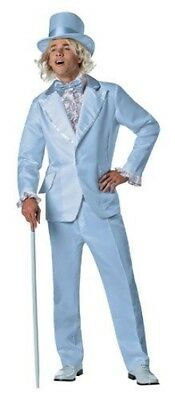 Herren Erwachsener Lustig Dumb And Dumber Deluxe Harry Dunne Blau Smoking - Harry Dunne Kostüm