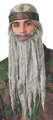 Rubie's Halloween Costume Wig and Beard Kit