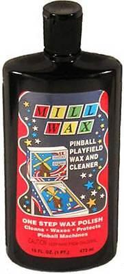 Millwax specialist pinball waxer cleaner