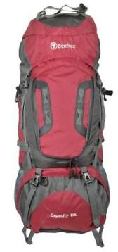 Beefree 80 Liter nylon Backpack - Rood