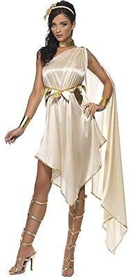Damen Sexy Römisch Griechische Göttin Toga Party Fasching Kostüm Kleid Outfit