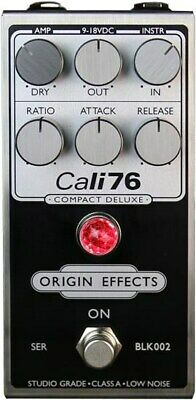 Origin Effects Cali76 Compact Deluxe LTD FET Compressor Pedal, Inverted Black