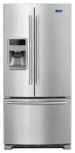 MAYTAG MFI2269FRZ 33- INCH WIDE FRENCH DOOR REFRIGERATOR ON SALE  (BD-2117)