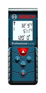 Bosch GLM35 Professional Laser Measure 120ft