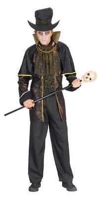 Adults Undertaker Costume Outfit Grave Digger Halloween Voodoo Witch - Undertaker Kostüm