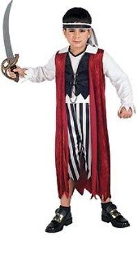 Kinder Piraten König Pirat Kostüme (Jungen Kinder Piratenkönig Schwadroneur Kostüm Outfit)
