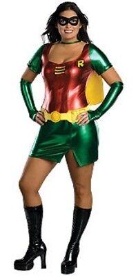 Damen Erwachsener Reiz Batman Robin Kostüm - Übergröße Robin Kostüm