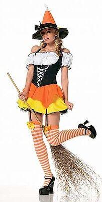 Candy Corn Witch Costume, Leg Avenue 83186, Adult - Kostüm Candy Corn