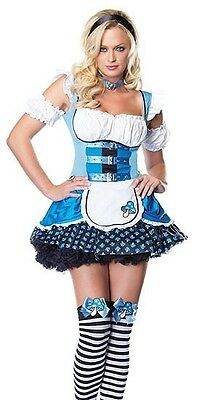 Mushroom Alice in Wonderland Costume, Leg Avenue 83521, 3 Piece, Size S/M, XL - Alice In Wonderland Mushroom Costume