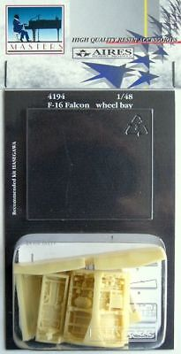 Aires 1/48 F-16 Falcon Wheel Bay for Hasegawa kit 4194