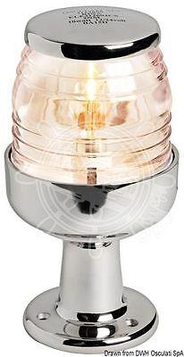Osculati  AISI 316 SS Body 360 Degrees Masthead Light with Raised Base 12V 10W