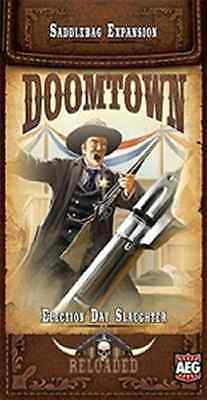 Doomtown Reloaded  Election Day Slaughter  Saddlebag Expansion  3   Alderac