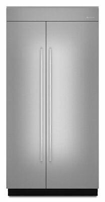 "Jenn-Air® 42"" Built In Side by Side Refrigerator Panel Kit-JPK42SNXWSS-LOCALPICK"