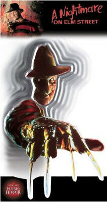A NIGHTMARE ON ELM STREET wall sticker 1 - Freddy Krueger Halloween Dekoration