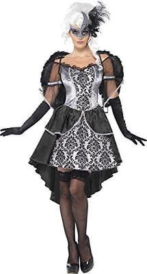 Smiffys Dark Angel Masquerade Womens Costume Adult M 10/12 41105 FAST SHIP! D67](Dark Angel Costumes For Women)